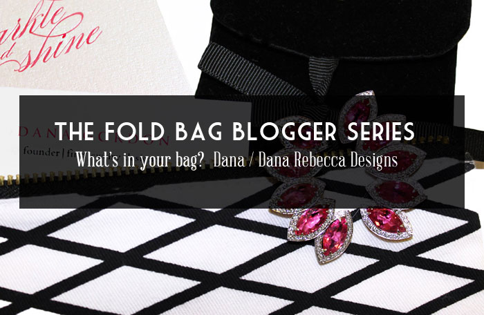 What's In Your Bag? / The Fold Bag Blogger Series No. 2