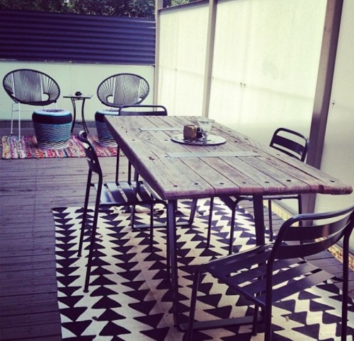 Stone Textile_Outdoor dining