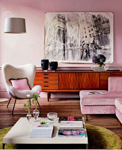 Living Room Colors That Make You Happy love your home / happy colors: blush tones – stone textile