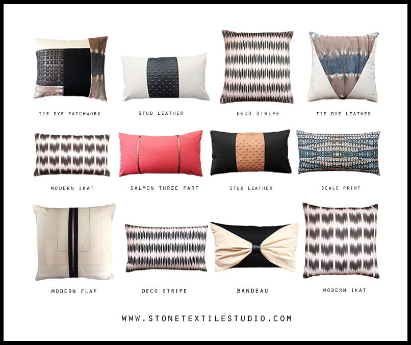 Stone Textile Pillows