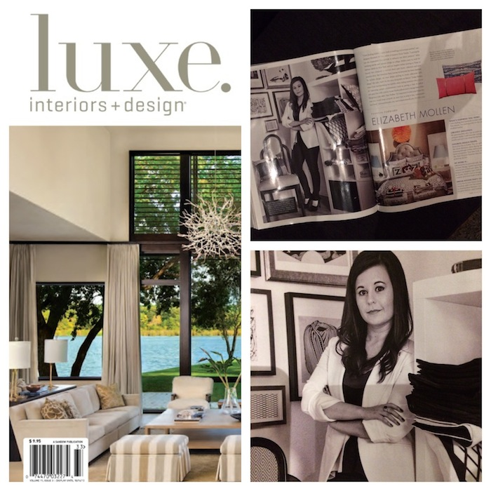 Featured In:  LUXE Magazine / Style Makers