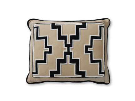 Vintage Beaded Tribe Pillow