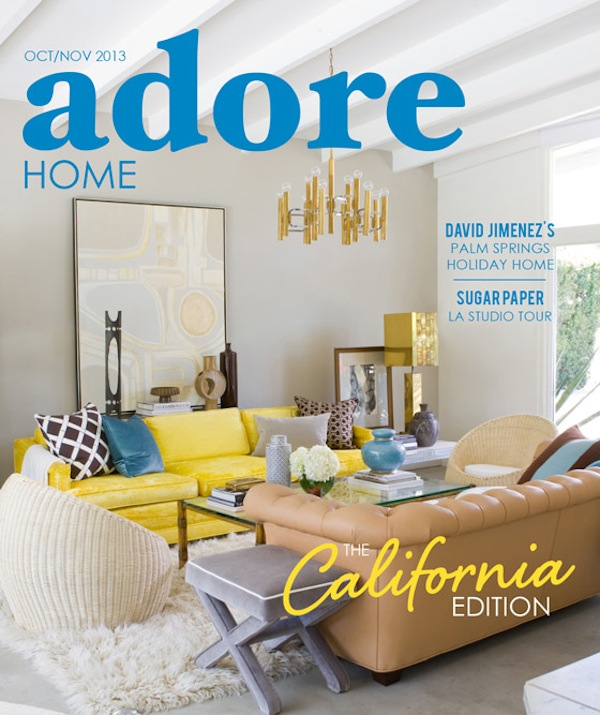 Stone Textile Featured In / Adore Magazine