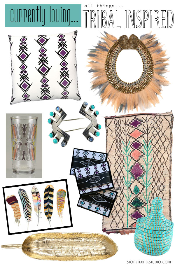 Currently Loving…Tribal
