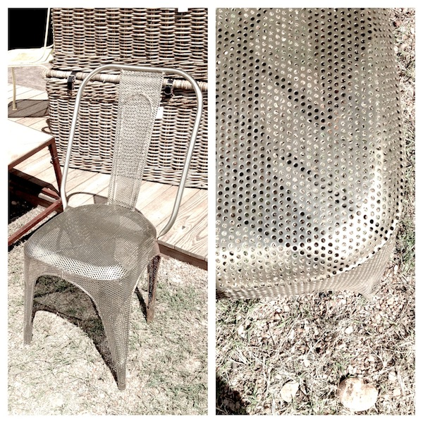 Found_Metal Chair