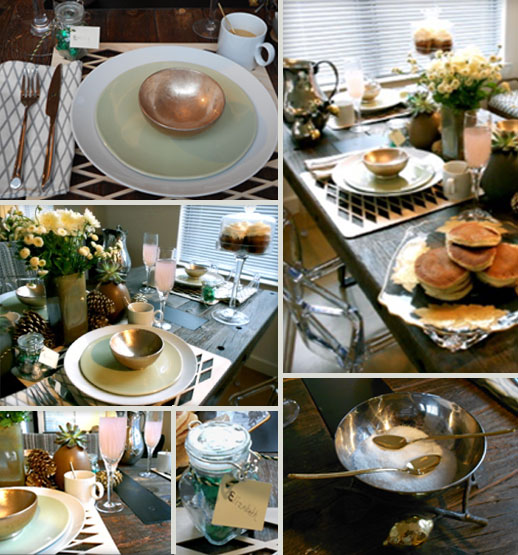 Holiday Table Series:  No.1 Brunch