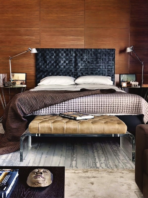 Five Favorites / The Masculine Inspired Bedroom