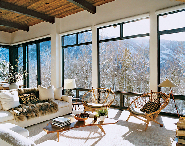 Love This House…Aerin Lauder's Aspen Home