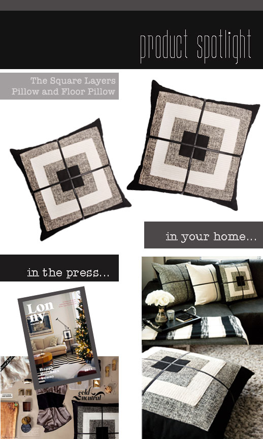 Product Spotlight: The Square Layers Pillow