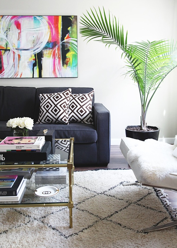 small-shop-for-Adore-Home-by-Sabra-Lattos-living-room-beni-ourain-David-Hicks-Jonathan-Adler-coffee-table