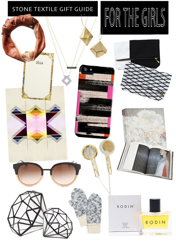 Stone Textile Gift Guide / For The Girls