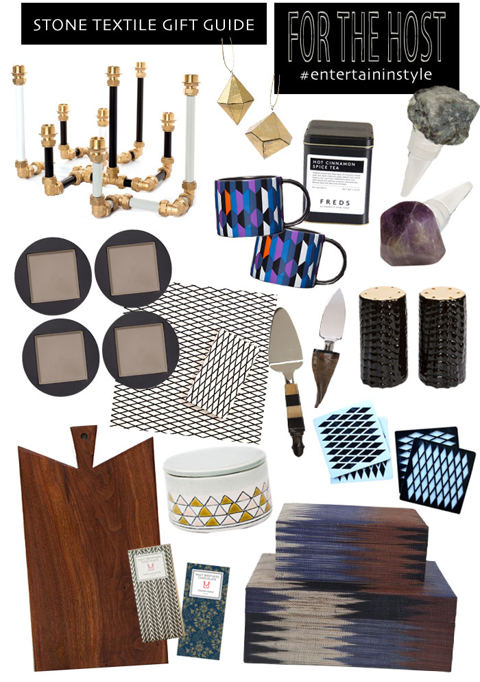 Stone Textile Gift Guide / For The Host