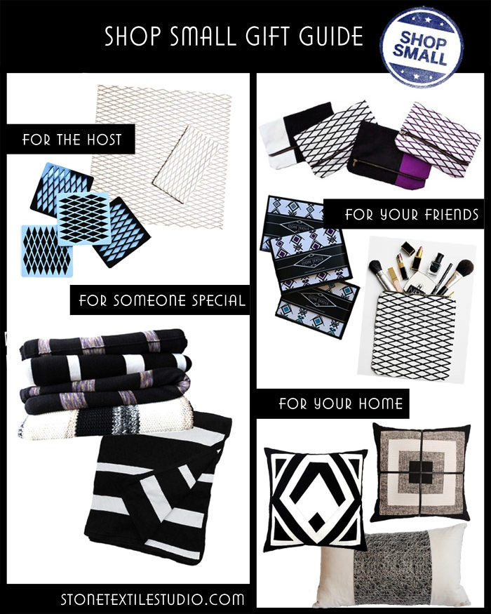 Shop Small / Stone Textile Holiday Gift Guide