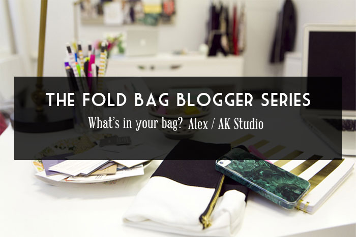 What's In Your Bag / Blogger Series No.3
