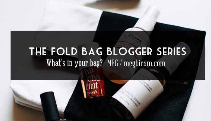 What's In Your Bag / The Fold Bag Blogger Series No.1