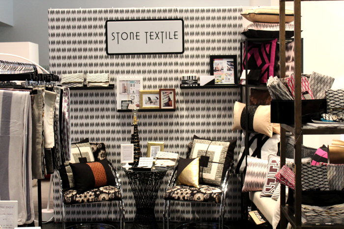 Stone Textile At Lawndale / Booth Photos