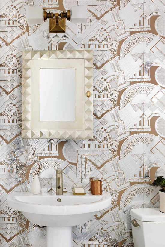 Interiors By Stone Textile_Guest Bathroom