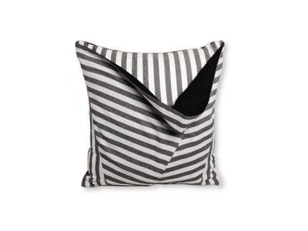 The Stripe Dip Pillow