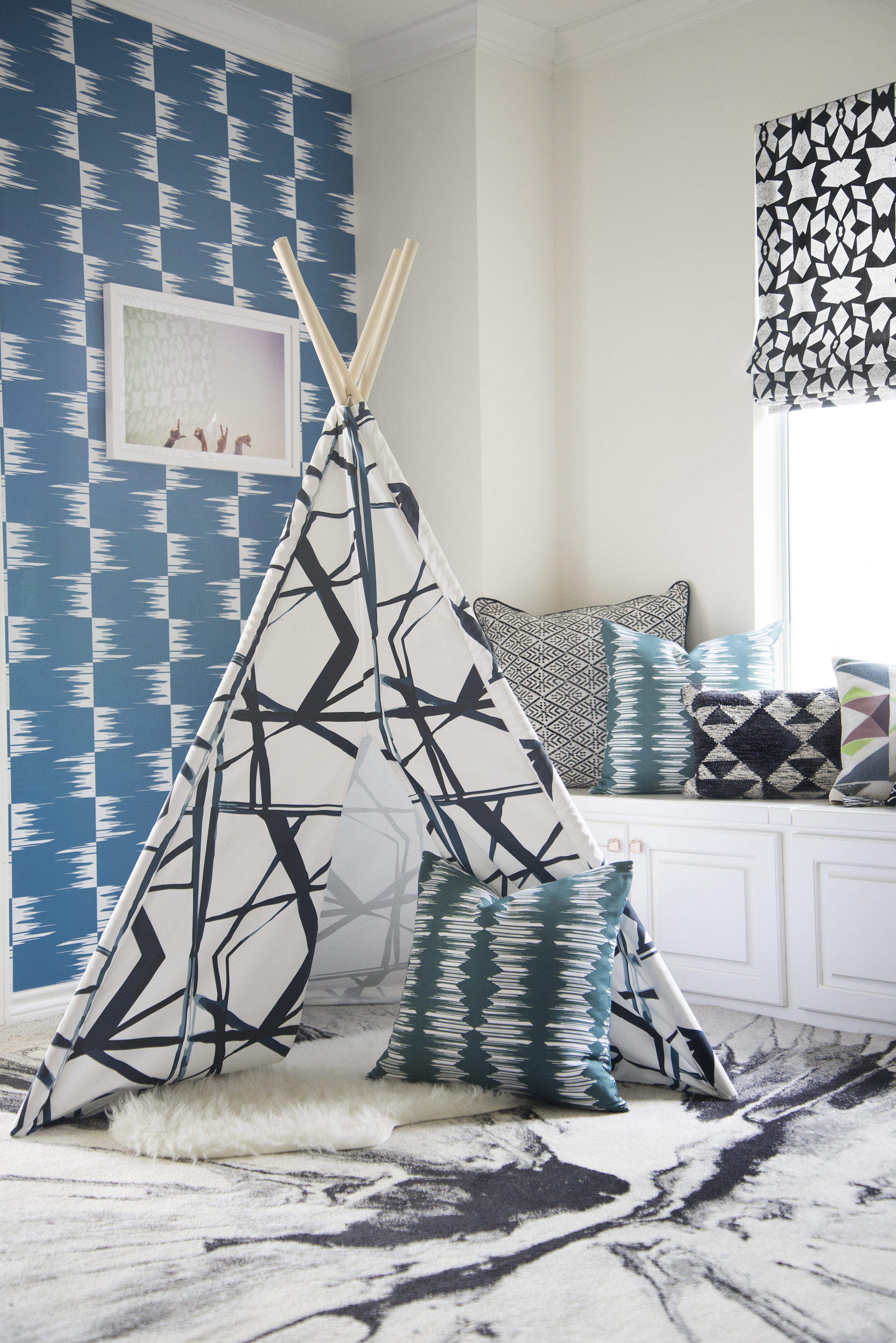 Interiors By Stone Textile / Modern Playroom