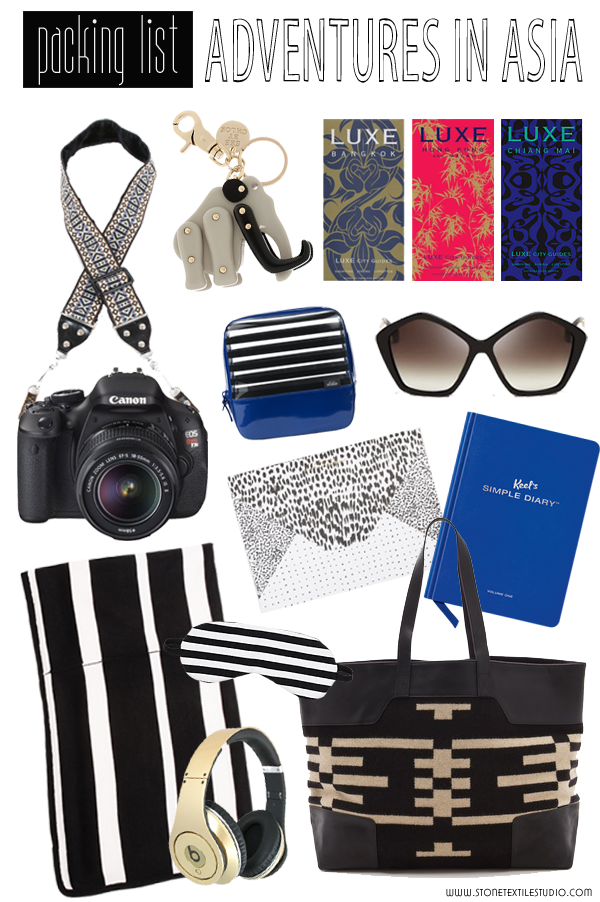 Packing for Asia + Featured on Domaine Home