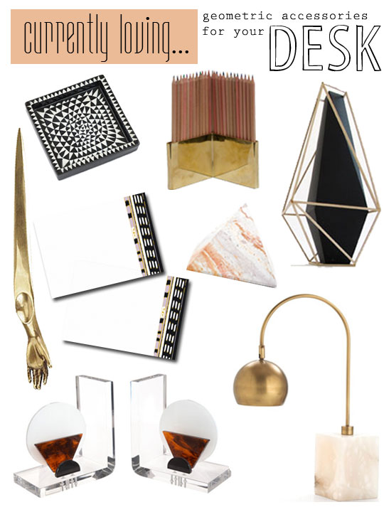 Currently Loving…accessories for the desk