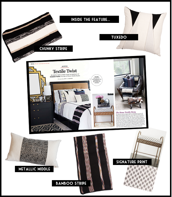 Product Spotlight:  Inside The Feature / Bungalow Magazine