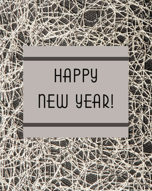 A New Year…