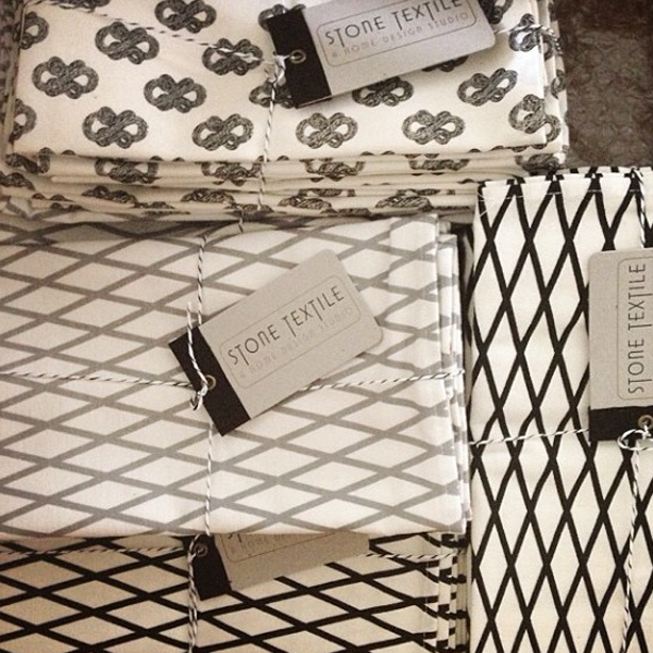 Spotted / Where Stone Textile has been popping up this week…