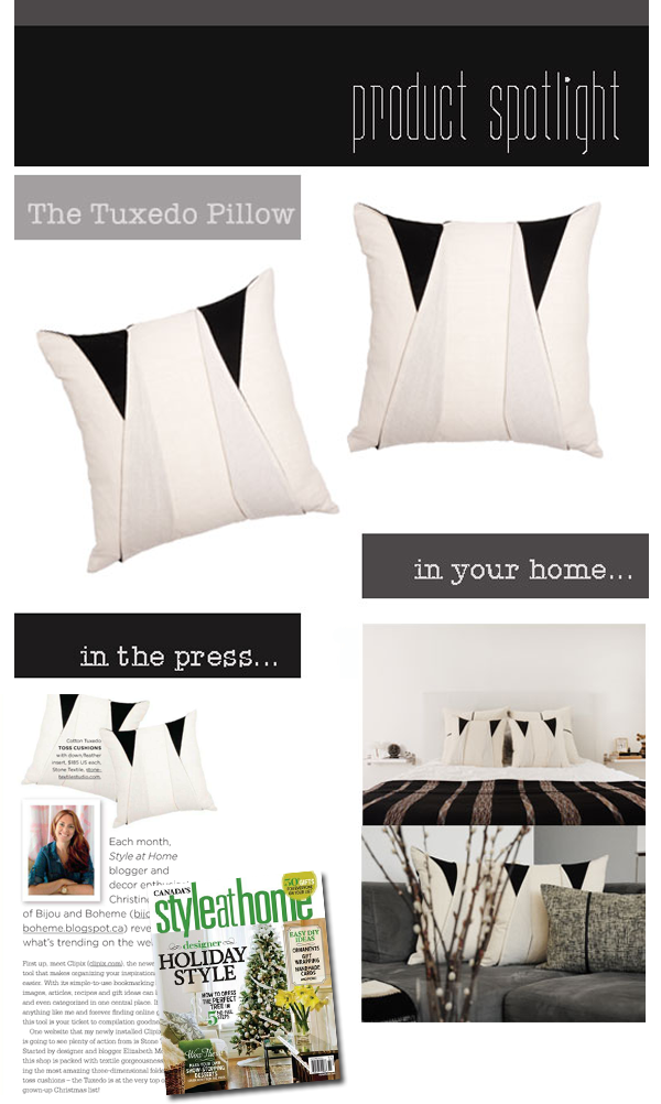 Product Spotlight + Featured In…